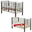 Drewex Zebra Bērnu gultiņa-transformeris