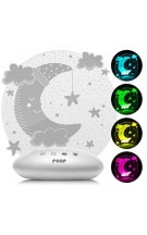 REER 52121 ColourLumy Moon LED naktslampiņa