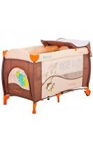 Beticco Ceļojumu gultiņa Change, pārtinamā virsma, paaugstinātais stāvs zīdaiņiem