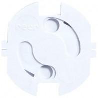 REER sienas kontaktligzdu aizsargi, caurspīdīgi, 20 gb. komplekts
