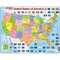 Larsen puzzle ASV karte Maxi