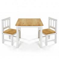 REER koka galdiņš un divi krēsliņi
