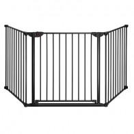 REER drošības vārtiņi 3 panel Safety gate + istaba nodalījums Basic, metals