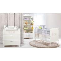 Klups bērnu istabas mēbeļu komplekts Marsell
