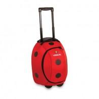 LittleLife Bērnu koferis ar ritentiņiem dzīvnieks Wheelie Duffle Ladybird