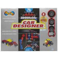 Zoob konstruktors - 76 +12 gab. Mobile Car Designerr