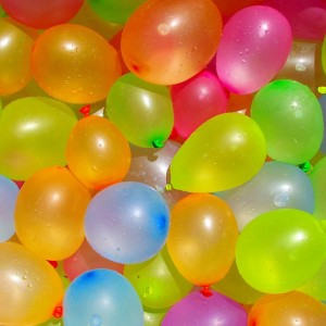 Baloni - ūdens bumbas ar atspole