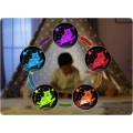 REER 52131 ColourLumy Owls LED naktslampiņa