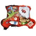 BIG Didelis raudonas vaikiškas lagaminas