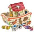Viga Toys formelių rūšiuoklis Nojaus arka