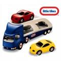 Little tikes didelis žaislinis automobilių tralas + 2 automobiliukai nuotrauka nr.3
