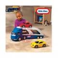 Little tikes didelis žaislinis automobilių tralas + 2 automobiliukai nuotrauka nr.6
