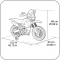 Feber  Motorbike Cross 400F akumuliatorinis motociklas 6V nuotrauka nr.5