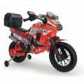 Injusa Dakar 6V elektrinis motociklas