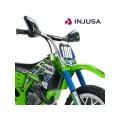 INJUSA Kawasaki Cross 6V elektrinis motociklas, tylūs ratai nuotrauka nr.3