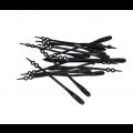 V-LACES elastīgs silikona kurpju šņores