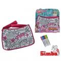 Simba Color Me Mine Maxi Hipsterės rankinė + 5 flomasteriai nuotrauka nr.1