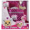 Simba Chi Chi Love Glam Fashion žaislinis šuniukas su krepšiu nuotrauka nr.1
