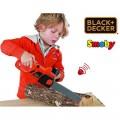 Smoby Black Decker žaislinis grandininis pjūklas su garsu