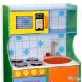 Andreu toys Krāsains koka virtuvīte