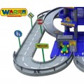 Wader didelis 4 aukštų garažas Auto Park su 3 automobiliukais ir plovykla 44723 nuotrauka nr.3